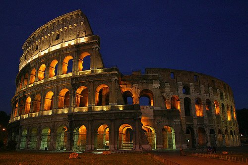 Koloseum (Itálie)– amfiteátr